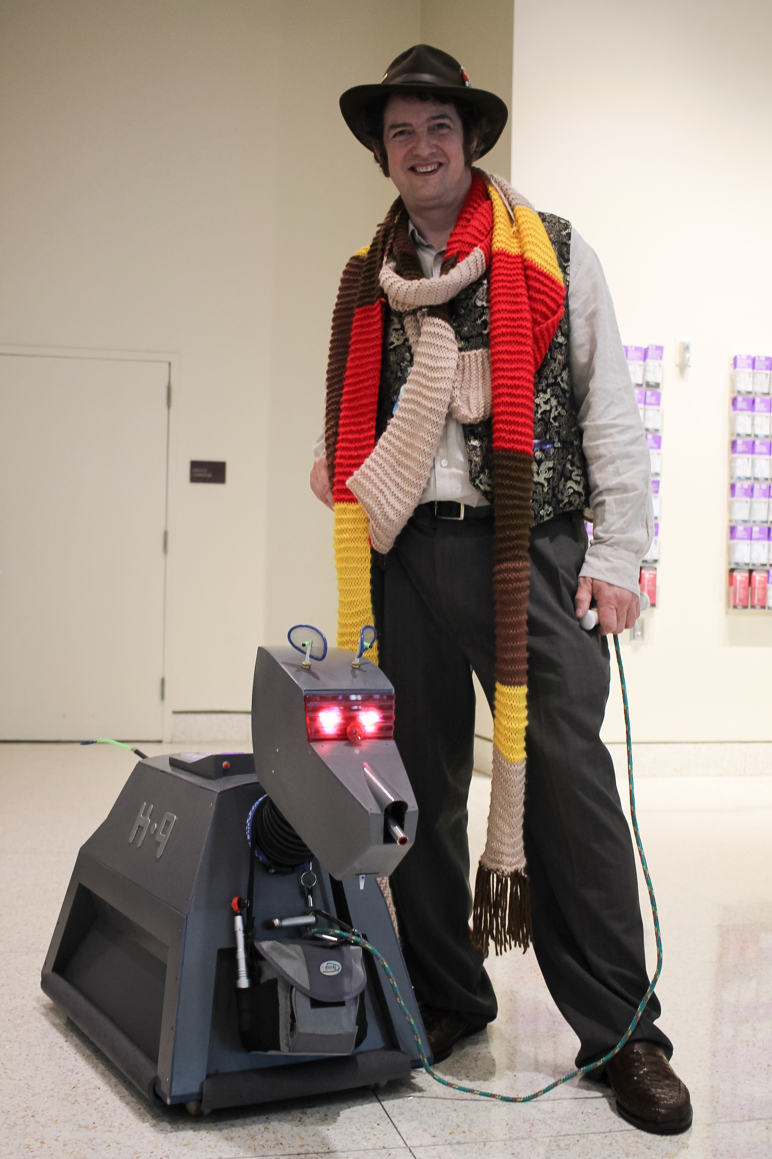 The Fourth Doctor andK-9