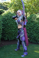 A night elf (i think( from World of Warcraft
