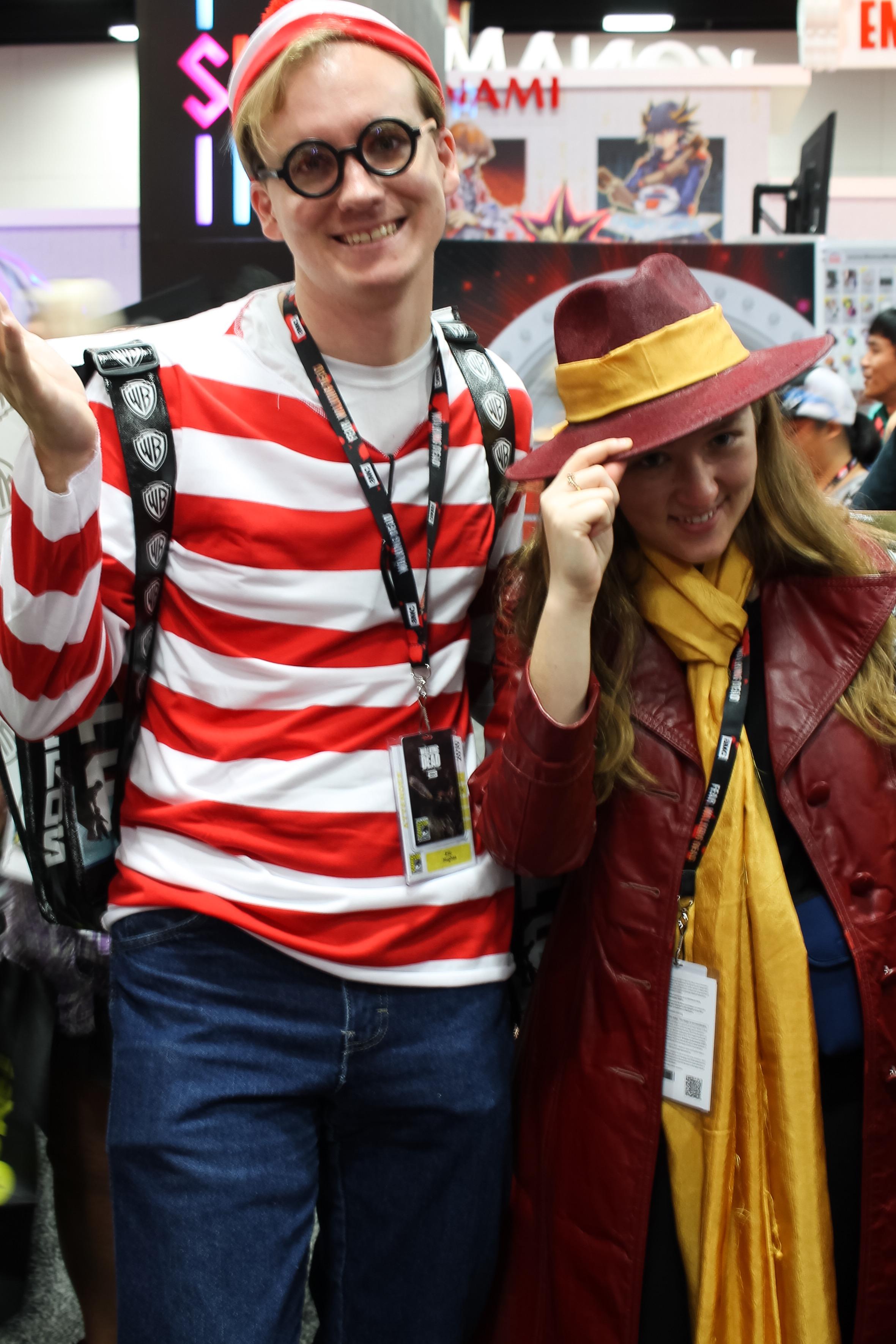 Where's Waldo and CarmenSandiego