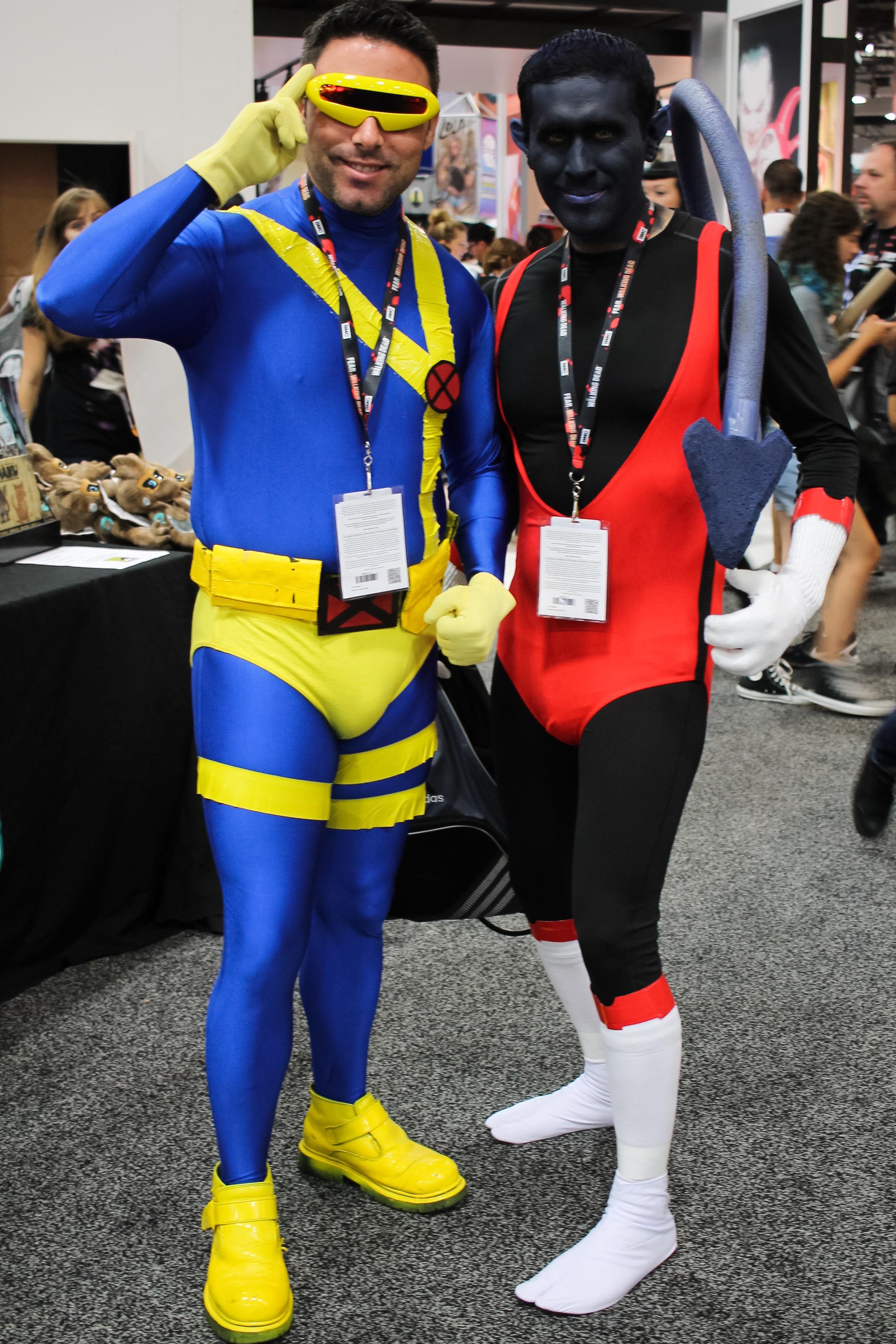 Cyclops and Nightcrawler