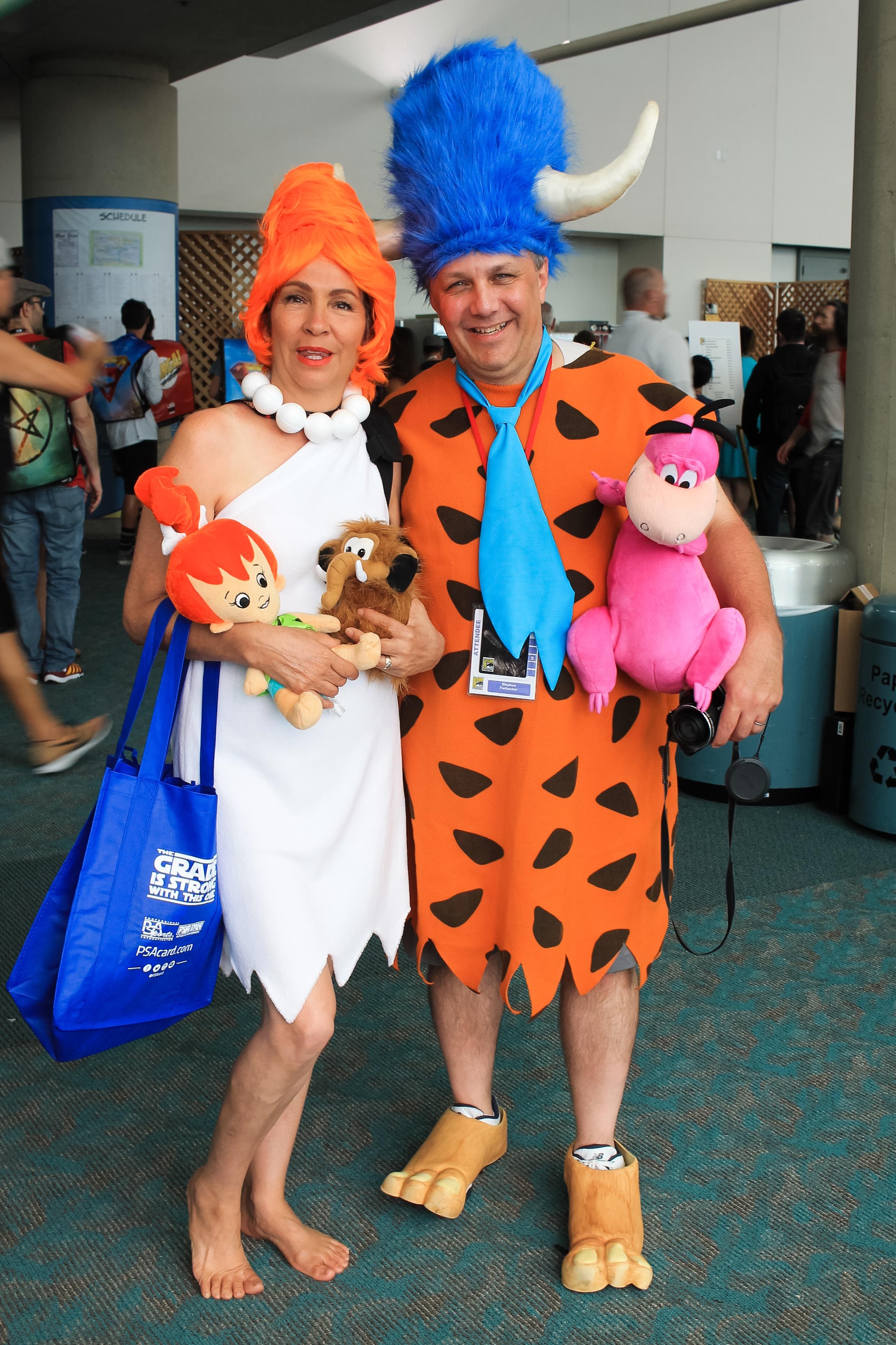 Flintstones, Fred andWilma