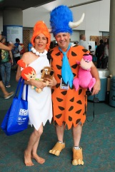 Flintstones, Fred and Wilma