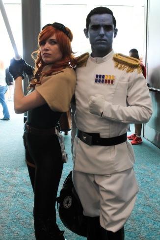 Mara jade and Admiral Thrawn