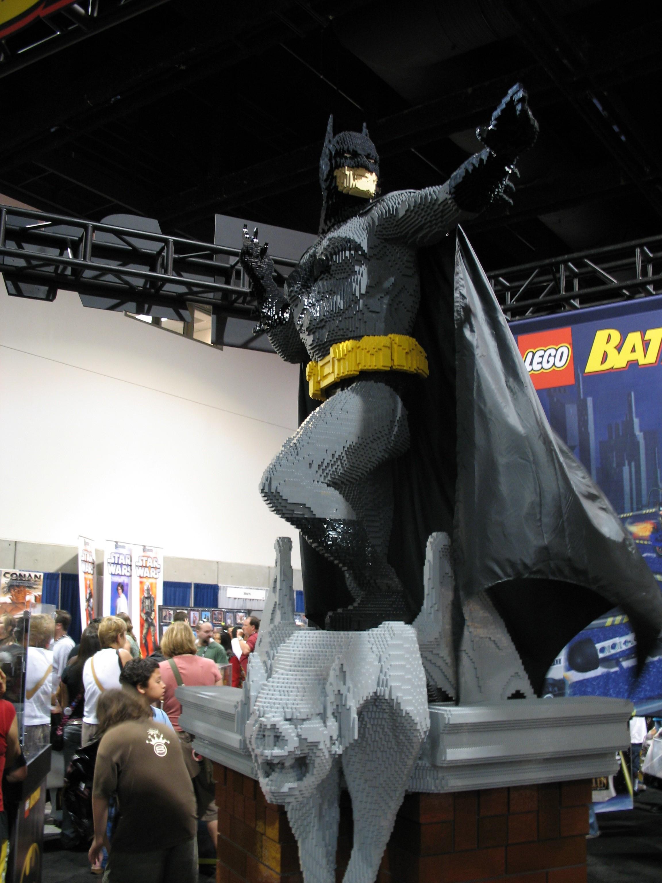 Batman in Legos