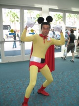 Mighty Mouse cosplay