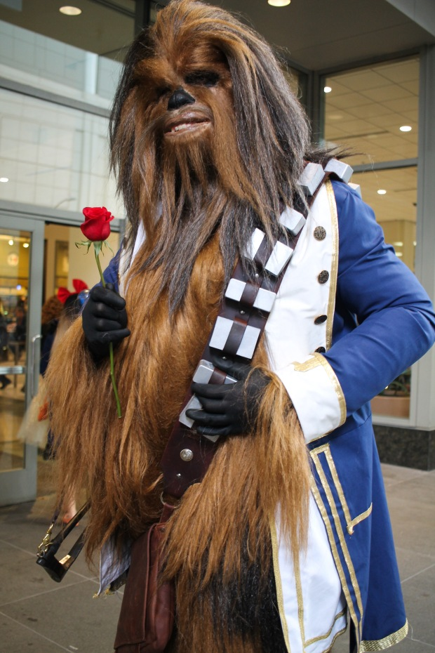 Chewbacca / Beauty and the Beast