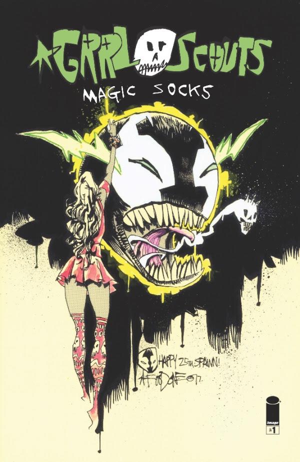 GRRL Scouts: Magic Socks#1