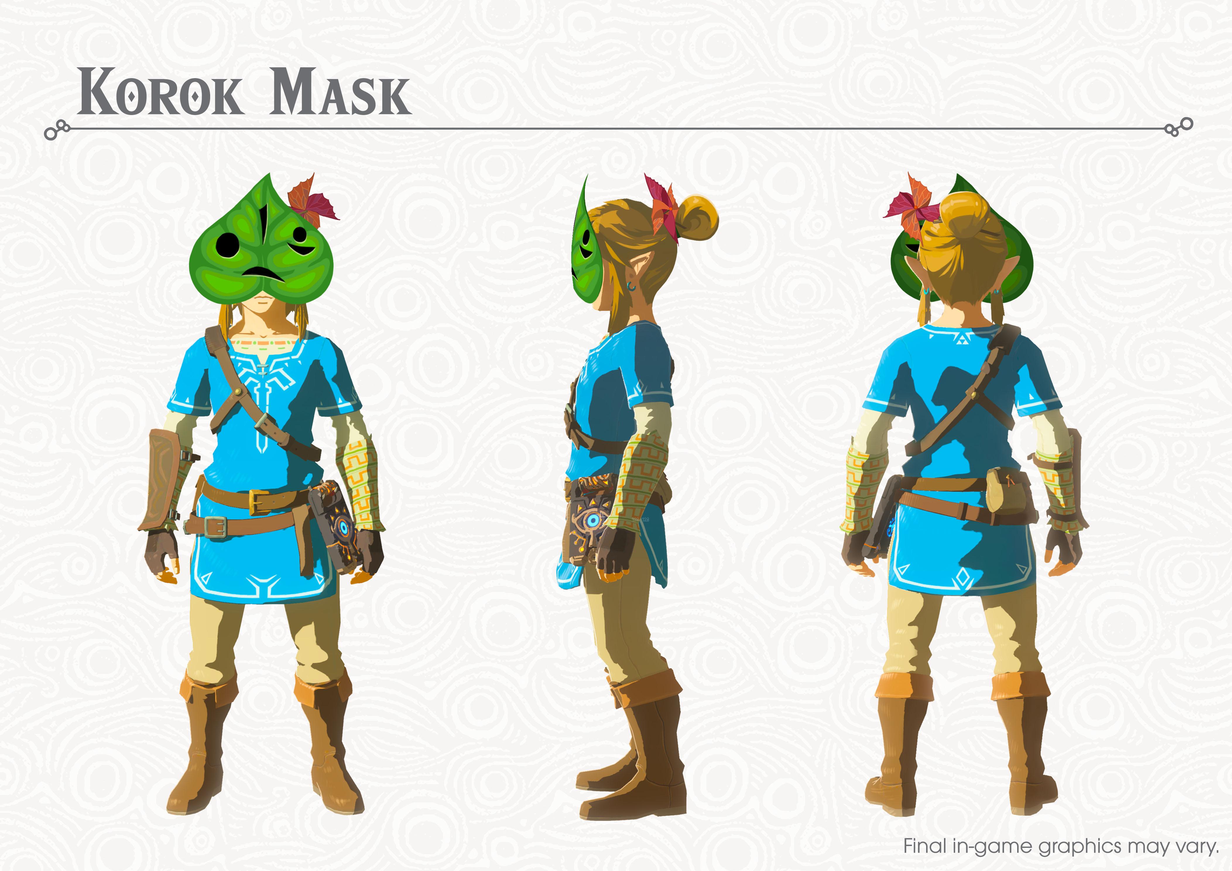 Korok_mask