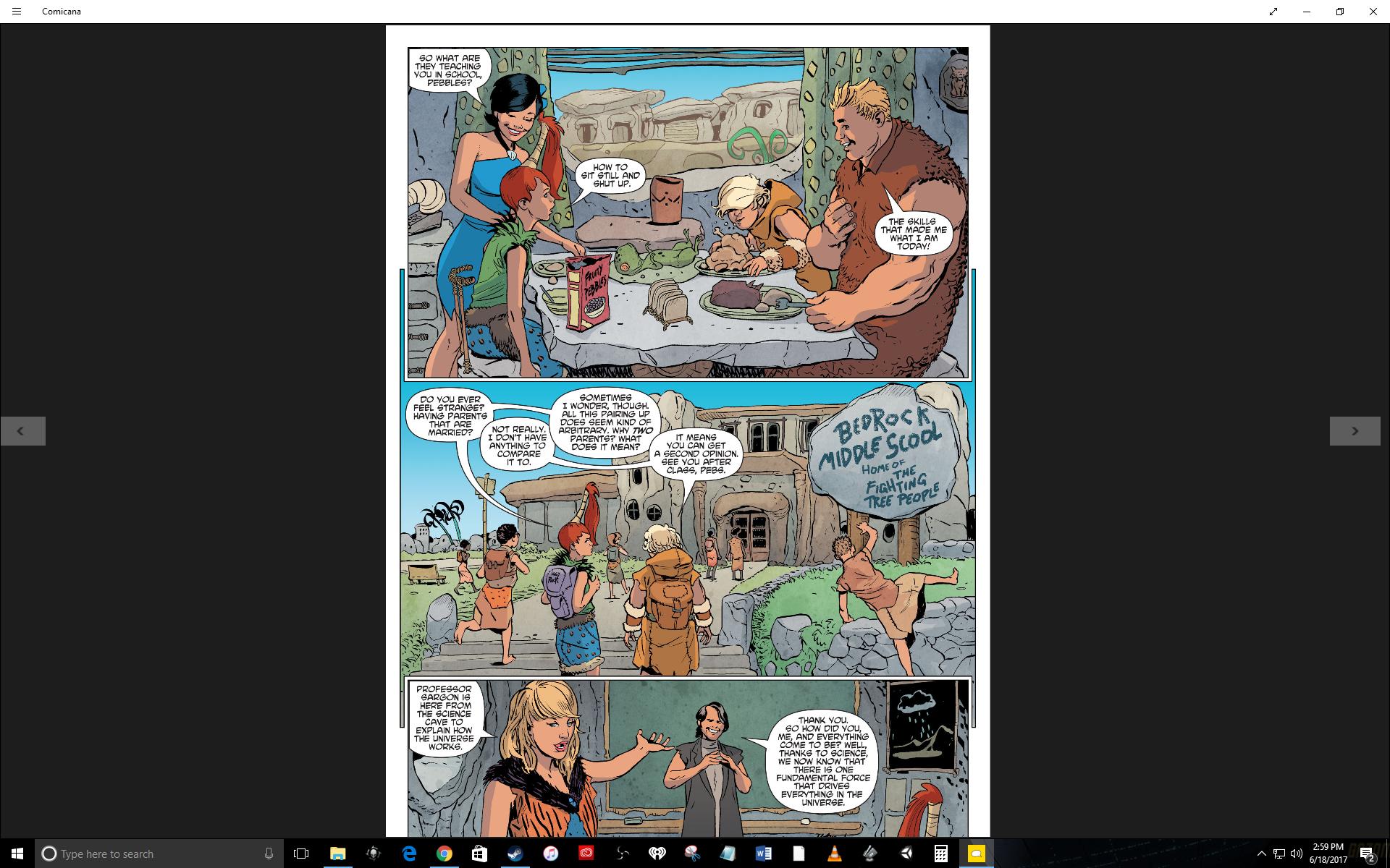 Furniture Puns Comic Reading Recommendation The Flintstones Volume 1