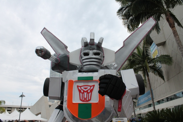 SDCC 2014 Wheeljack Transformers cosplay