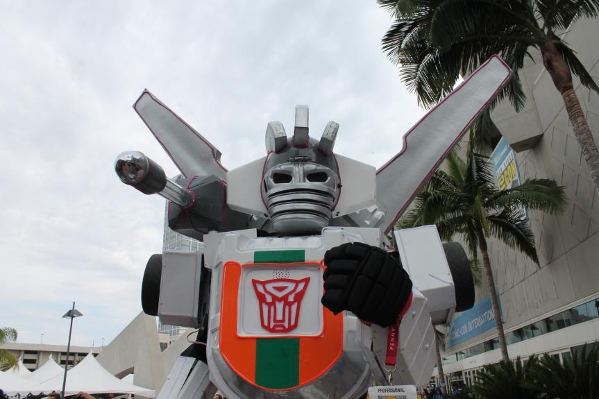 SDCC 2014 Wheeljack Transformers cosplay