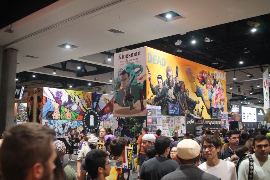 SDCC 2017 Image Comics Booth