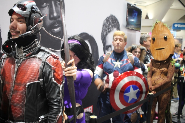 SDCC 2017 Marvel Booth